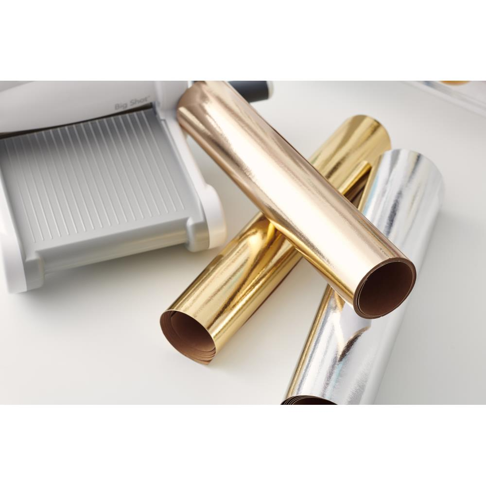 Sizzix 663805 Surfacez Texture Roll - Rose Gold