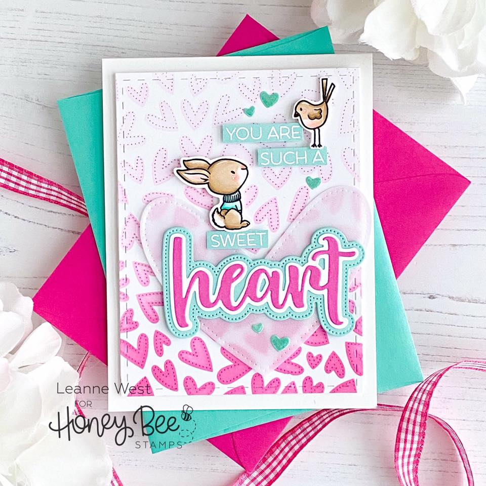 Honey Bee Stamps - Stamps Heart