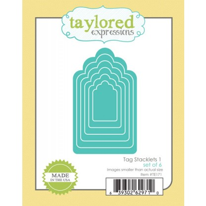 Taylored Expressions Dies - TE171 Tag Stacklets 1
