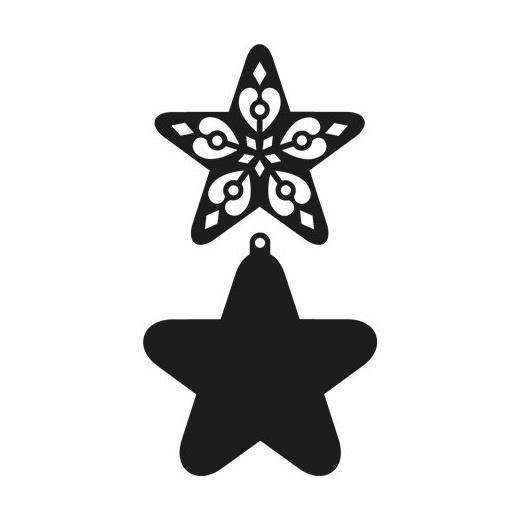 Marianne Design Craftables - CR1284 Filigree Star