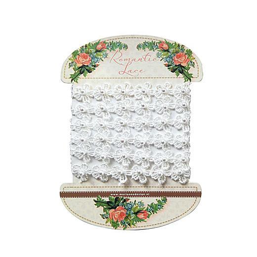 Marianne Design Romantic Lace - JU0946 White