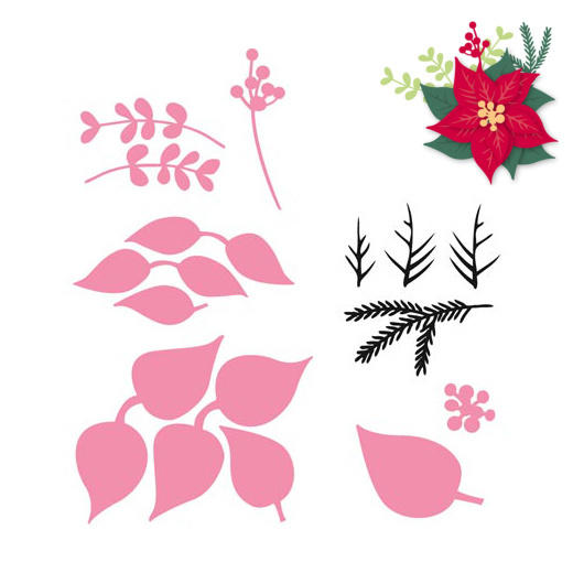 Marianne Design Collectable - COL1393 Eline's Poinsettia