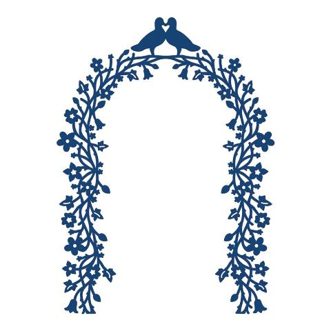 Tattered Lace Die - Floral Arch