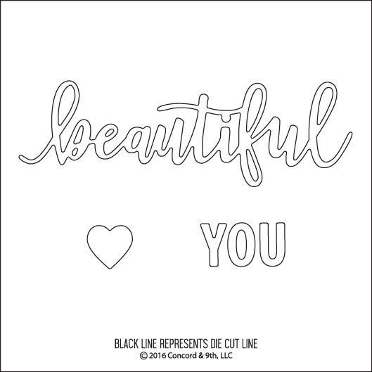 Concord & 9th Die - Beautiful You ※在庫限り※