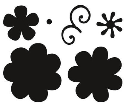 Marianne Design Craftables - CR1356 Flower Set Fancy