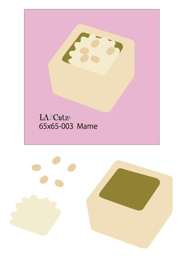 LA♪Cutz  65x65-003 Mame