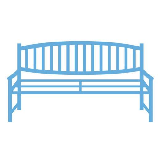 Marianne Design Creatables - LR0259 Wooden Garden Bench