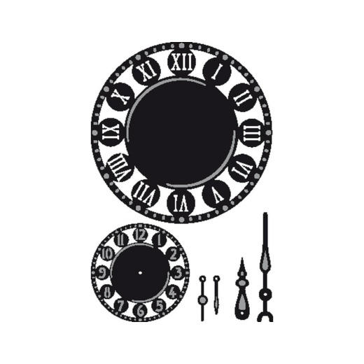Marianne Design Craftables - CR1234 Clocks & Hands