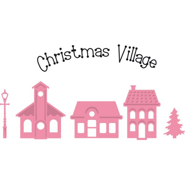 Marianne Design Collectable - COL1329 Mini Christmas Village