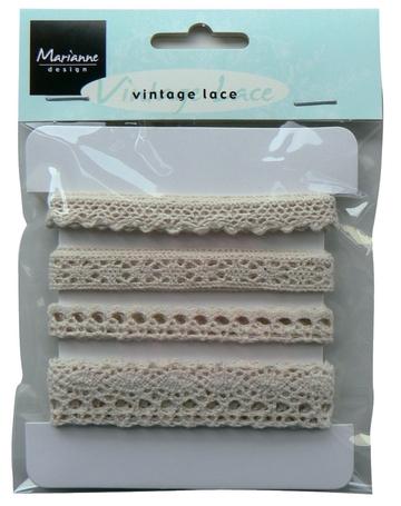 Marianne Design Vintage lace - JU0823 Ivory