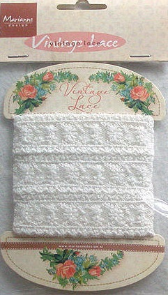 Marianne Design Vintage lace - JU0863 Duchesse