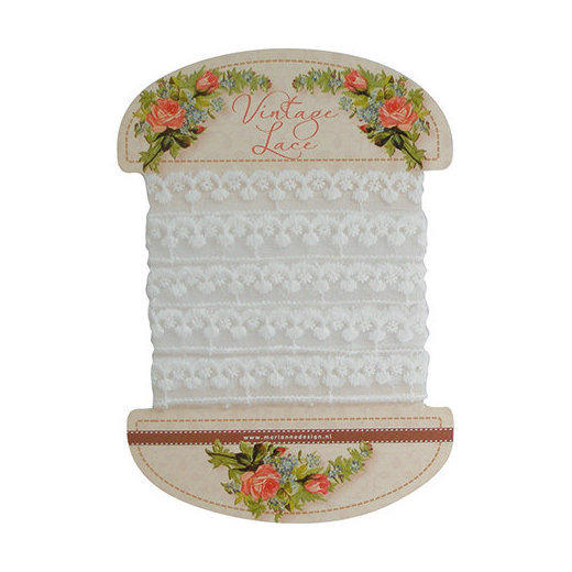 Marianne Design Vintage lace - JU0907 Scallop
