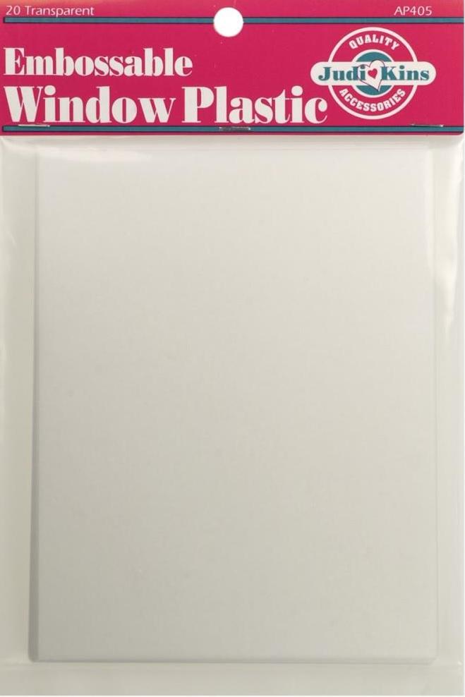 Judikins - AP405 Embossable Window Plastic Sheets