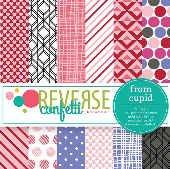 Reverse Confetti   Paper Pad 6×6 From Cupid