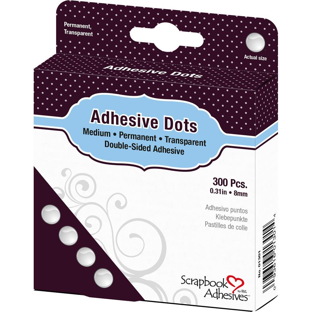 Scrapbook Adhesives - 1301 Dodz Adhesive Dot Roll Medium
