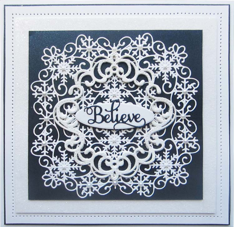 Creative Expressions Die - CED3147 Overlay & Ornament