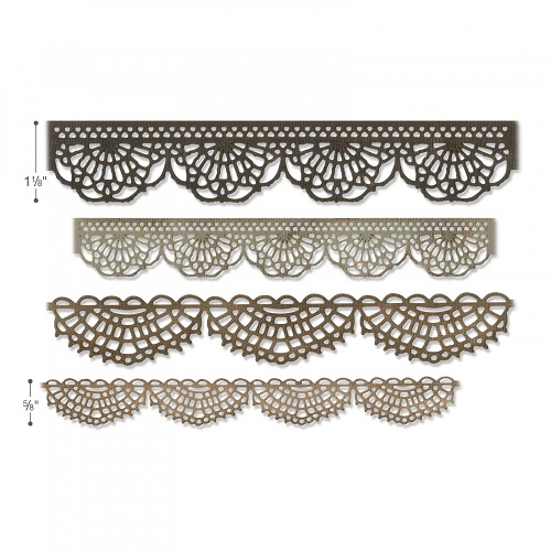 Sizzix Thinlits 664178 Crochet By Tim Holtz