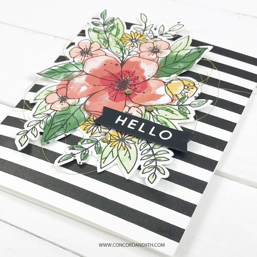 Concord & 9th スタンプ&ダイ セット♪ - Hello Lovely