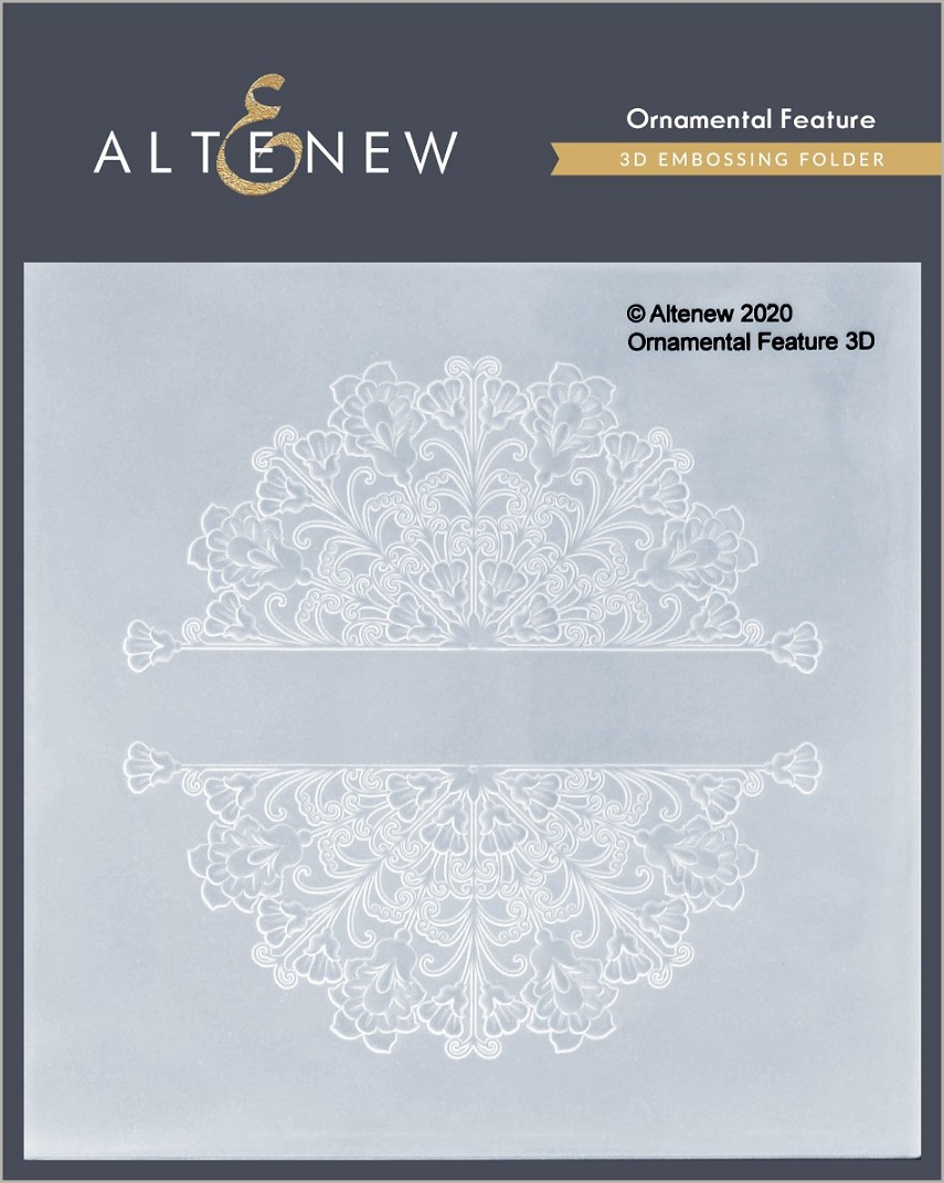 Altenew 3D Embossing Folder - ALT4696 Ornamental Feature