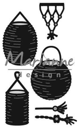 Marianne Design Craftables - CR1443 Lanterns Set