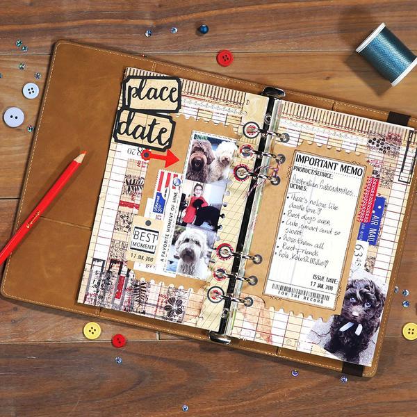 Elizabeth Craft Die - EC1655 Planner Essentials - 11