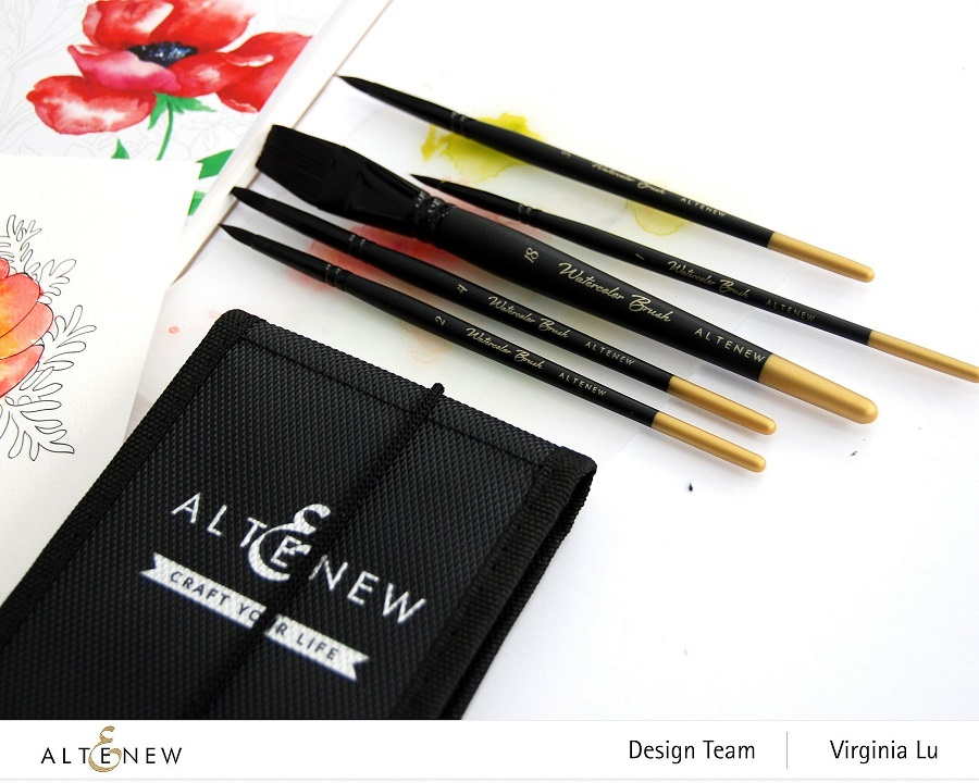 Altenew - ALT4414 Artists' Watercolor Brushes - Round