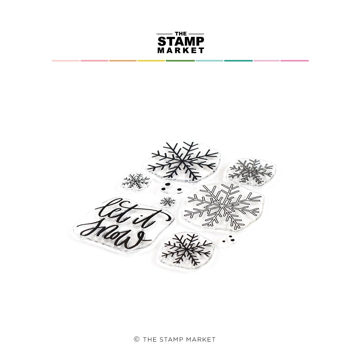 The Stamp Market Stamp - Let it Snow