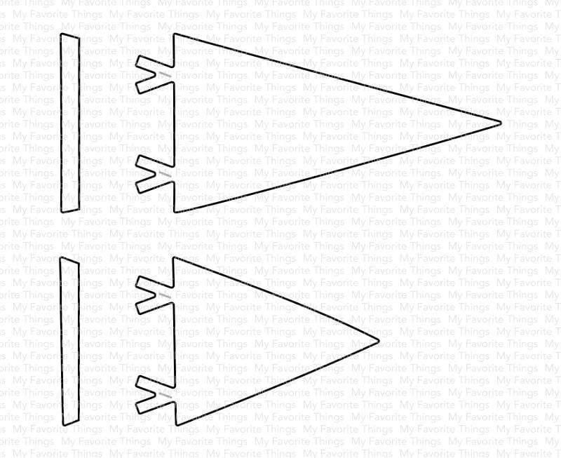 Die-namics - MFT-1759 Perfect Pennants