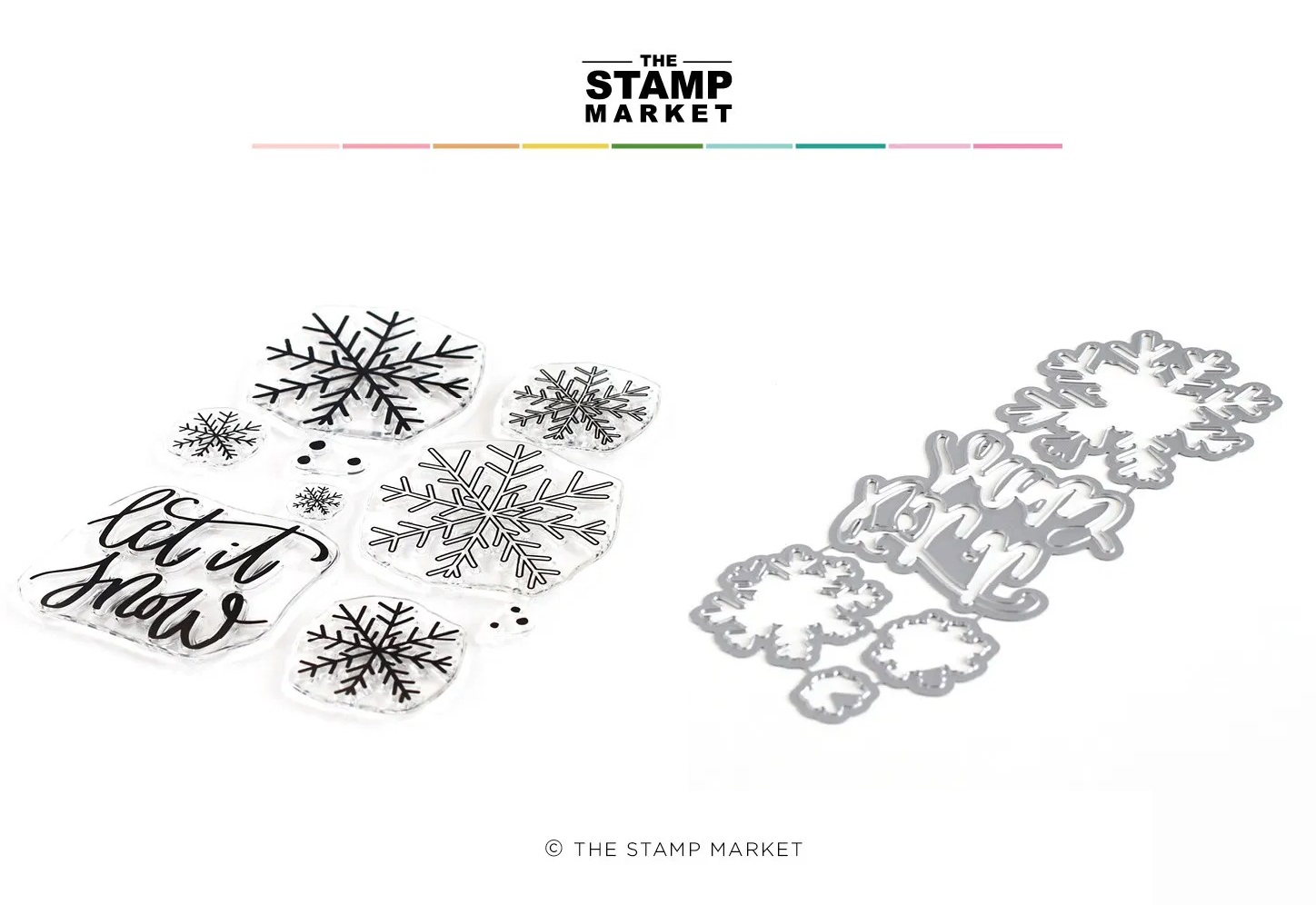The Stamp Market セット♪ - Let it Snow
