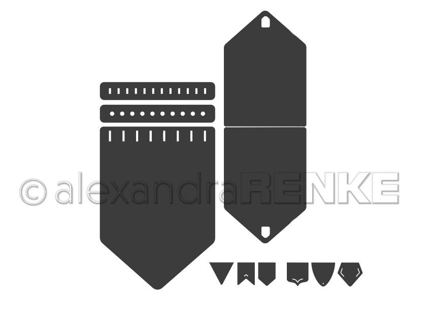 Alexandra Renke Die - D-AR-Ba0057 Pennant set