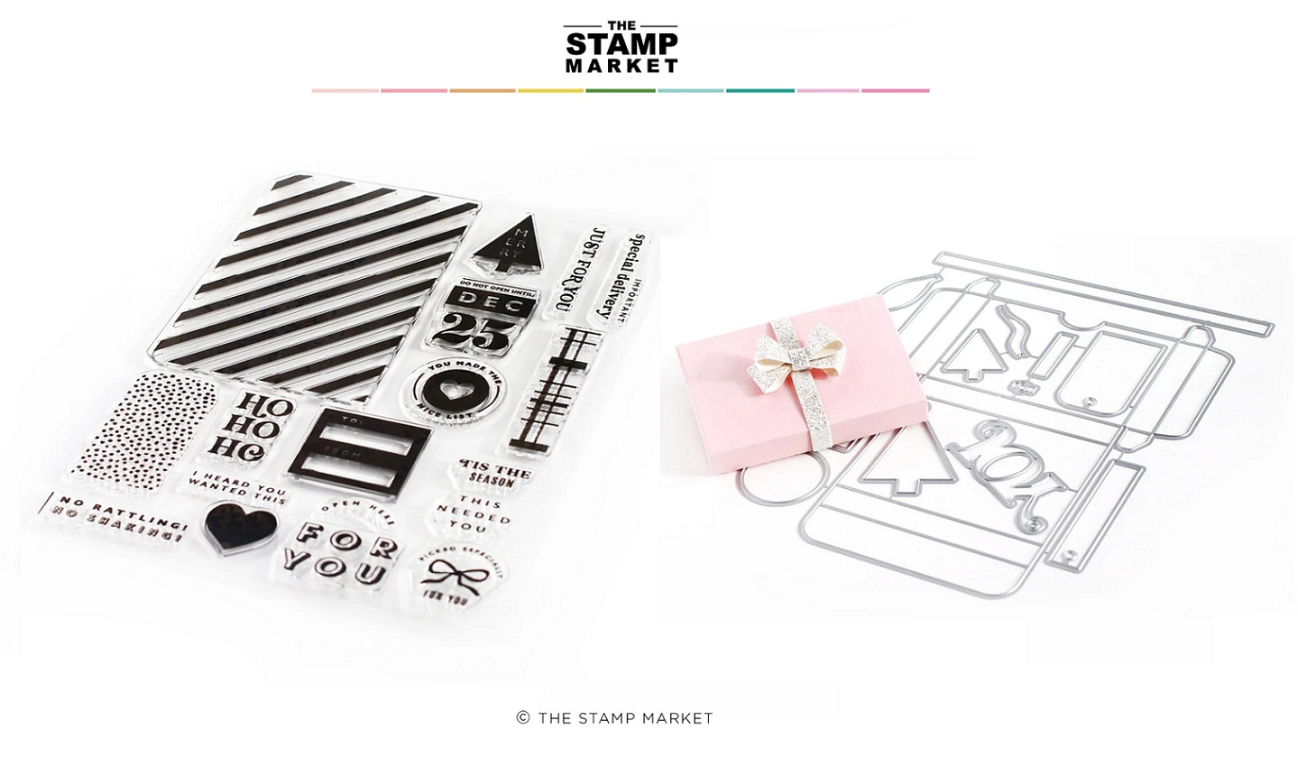 The Stamp Market セット♪ - Merry Gift Giving & Gift Card Box