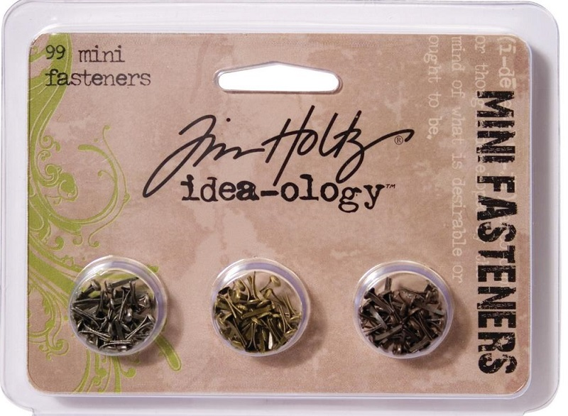 Tim Holtz  Idea-Ology - TH92790 Screw-Top Mini Fasteners
