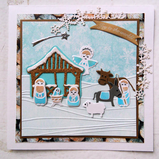 Marianne Design Collectable - COL1395 Nativity Set