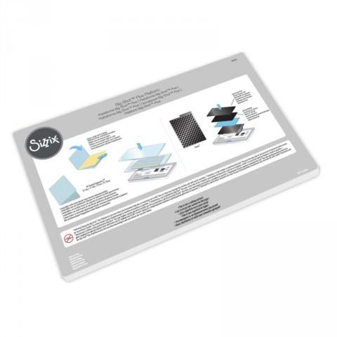 Sizzix 660020 Big Shot Plus Machine Only (White & Gray) 【プラスマシン】