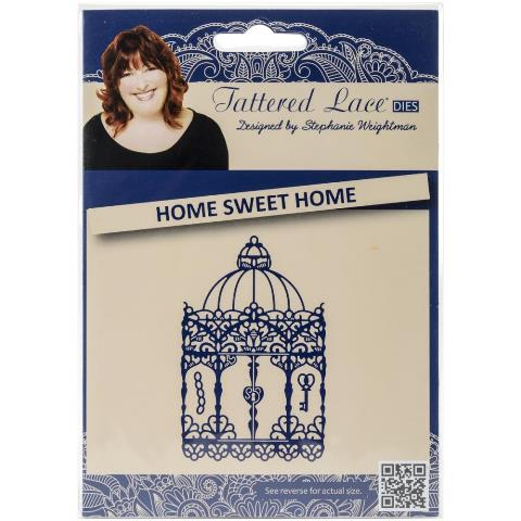 Tattered Lace Die - Home Sweet Home