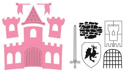 Marianne Design Collectable - COL1404 Castle