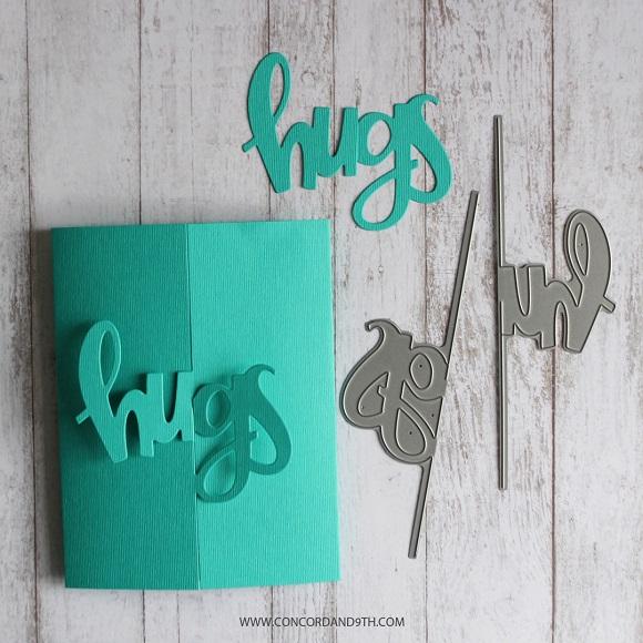 Concord & 9th Die - Hugs Card ※在庫限り※