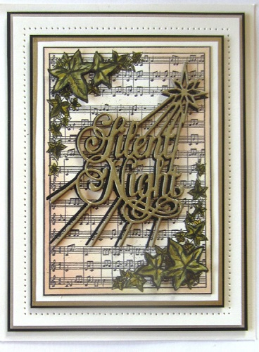 Creative Expressions Die - CED3032 Silent Night