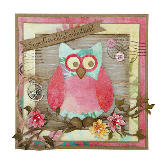 Marianne Design Collectable - COL1302 Owl