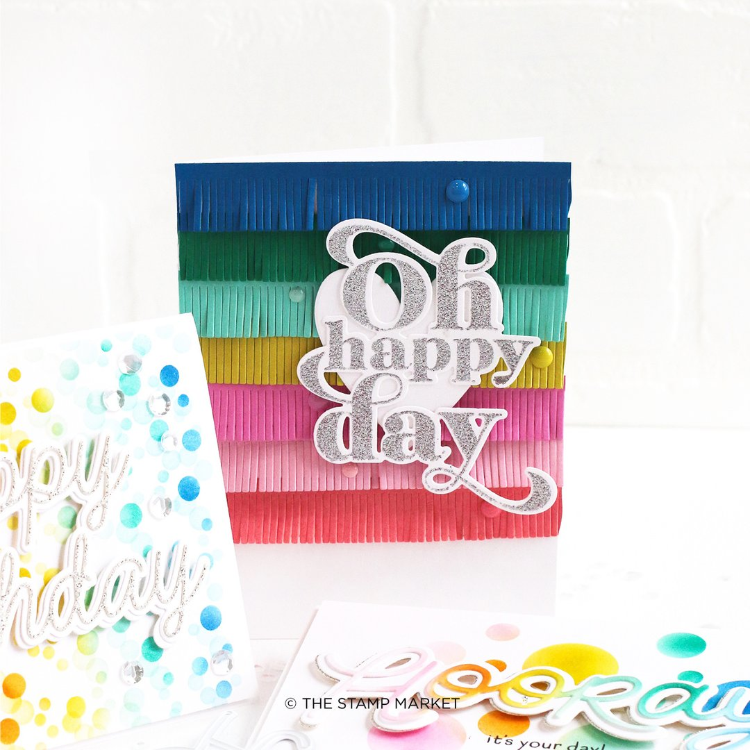 The Stamp Market Stamp - Oh Happy Day