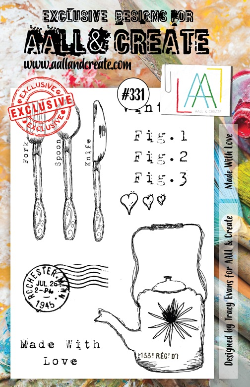AALL & Create Stamp A5 - #331
