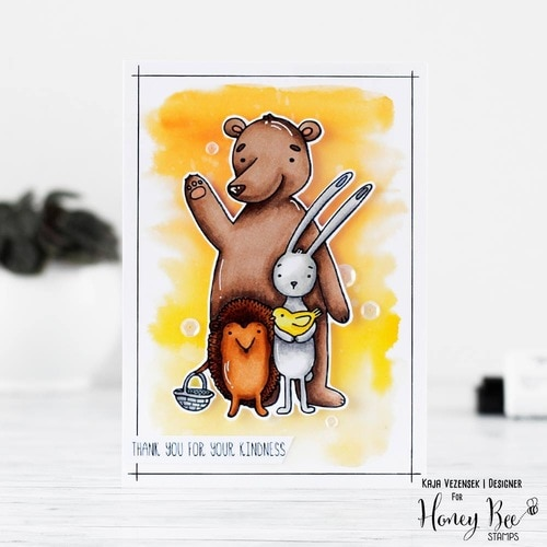 Honey Bee Stamps - Stamps Forest Friends