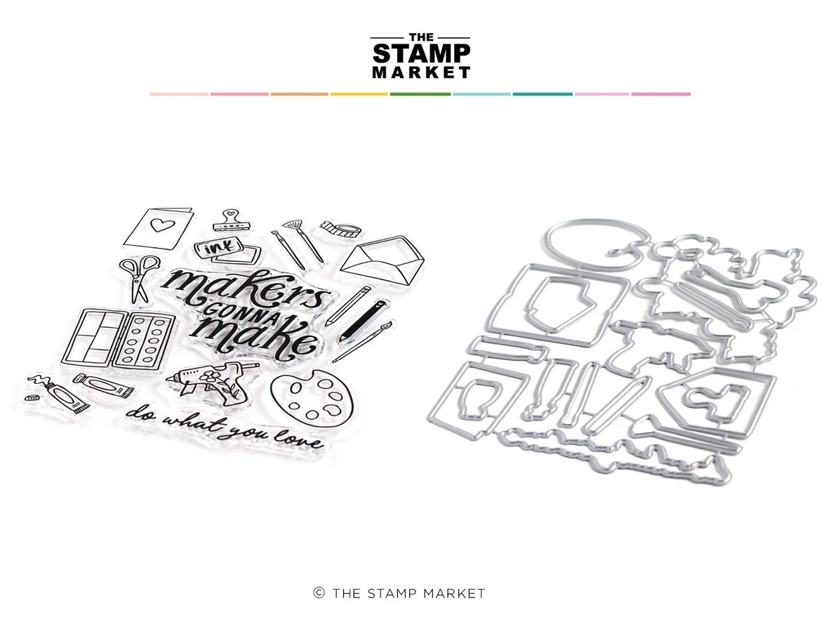 The Stamp Market セット♪ - Makers Gonna Make