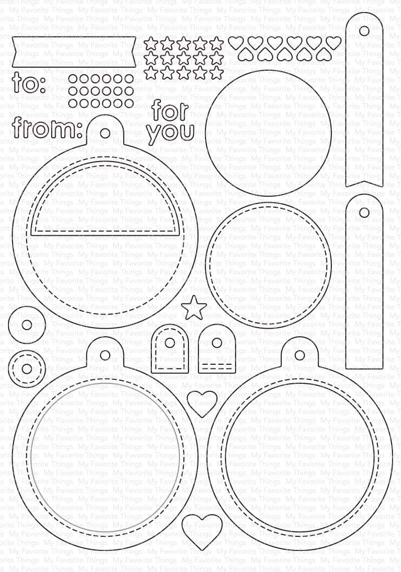 Die-namics - MFT-0998 Tag Builder Blueprints 6