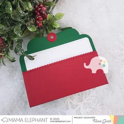 Mama Elephant Die - Gift Pocket Tag
