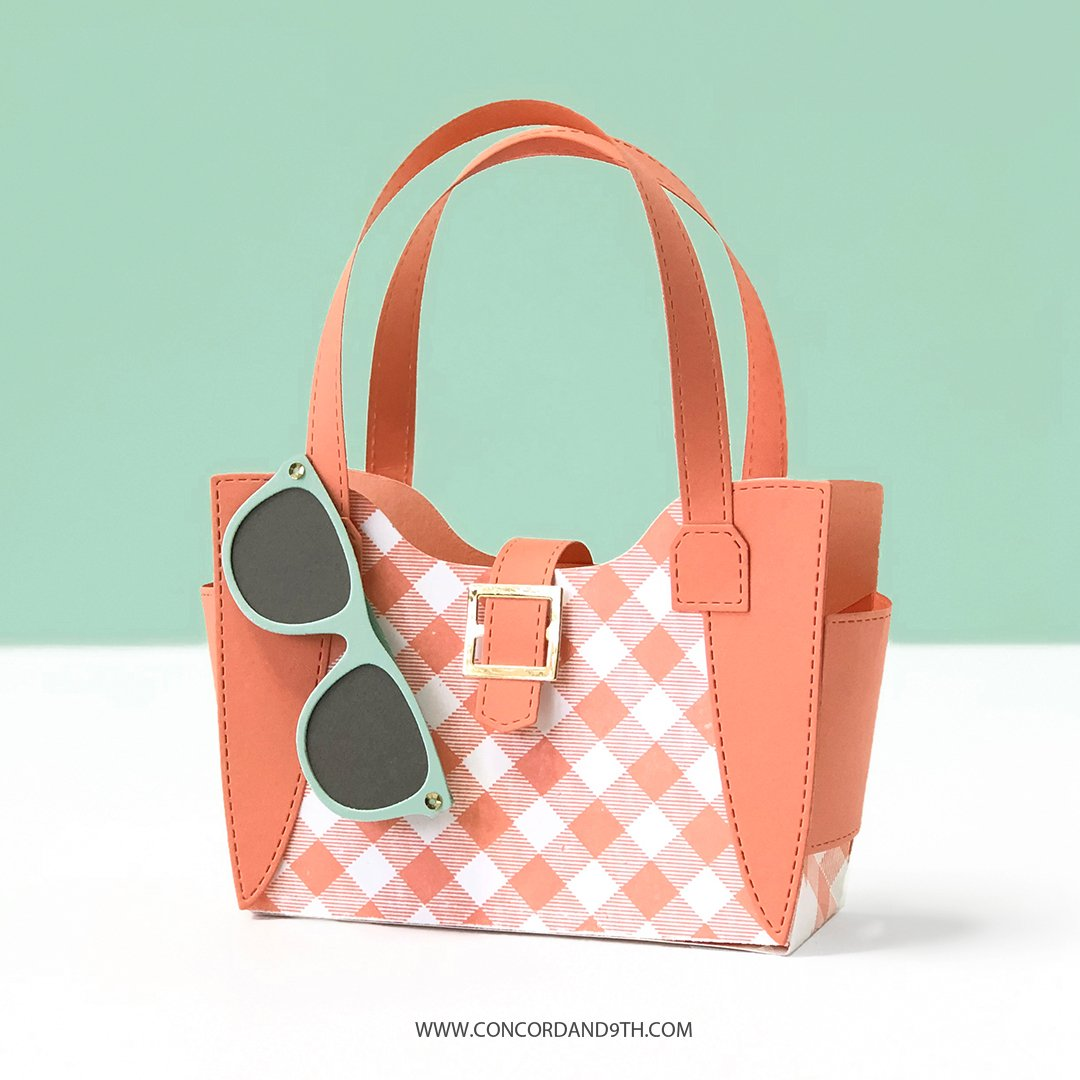 Concord & 9th Die - Weekender Handbag
