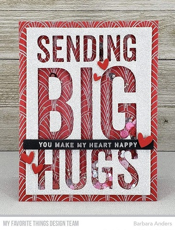Die-namics - MFT-1887 Sending Big Hugs