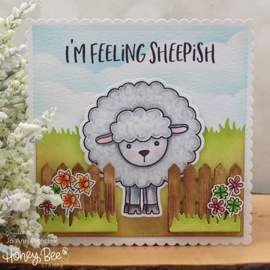 Honey Bee Stamps - Stamps Lily The Lamb