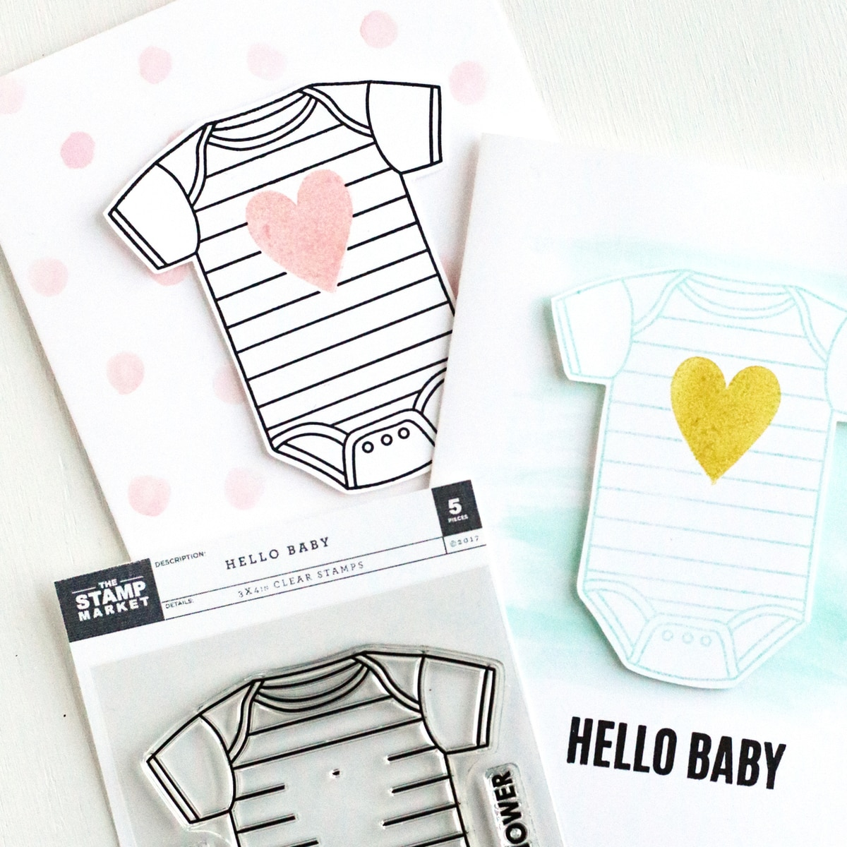 The Stamp Market Stamp - Hello Baby