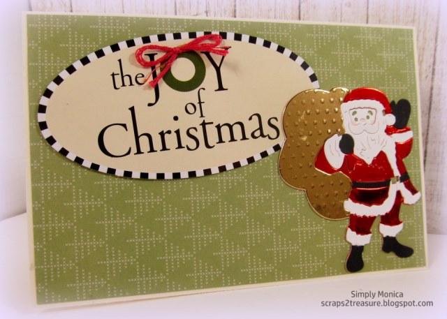Frantic Stamper Precision Dies - 10012 Santa With Toy Bag